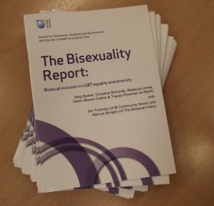 2012's Bisexuality Report, Open University
